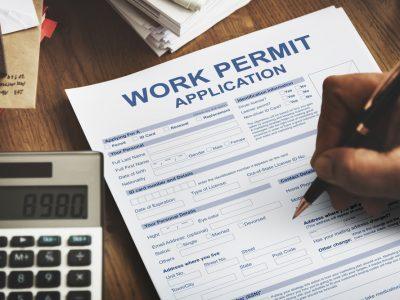 9. Get a Work Permit